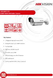 Katalog zařízení DS-2CE16D5T