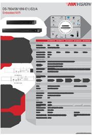 Katalog DS-7608NI-E2/A