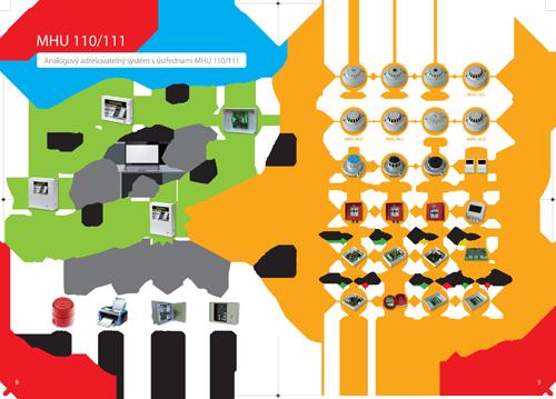 Analogový adresovatelný systém s ústřednou MHU 110 111
