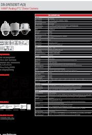 Katalog zařízení DS-2AE5230T-A