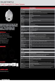 Katalog zařízení DS-2AE7230TI-A