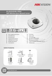 Katalog zařízení DS-2CD2542FWD-I28