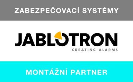 Logo montážního partnera - Jablotron